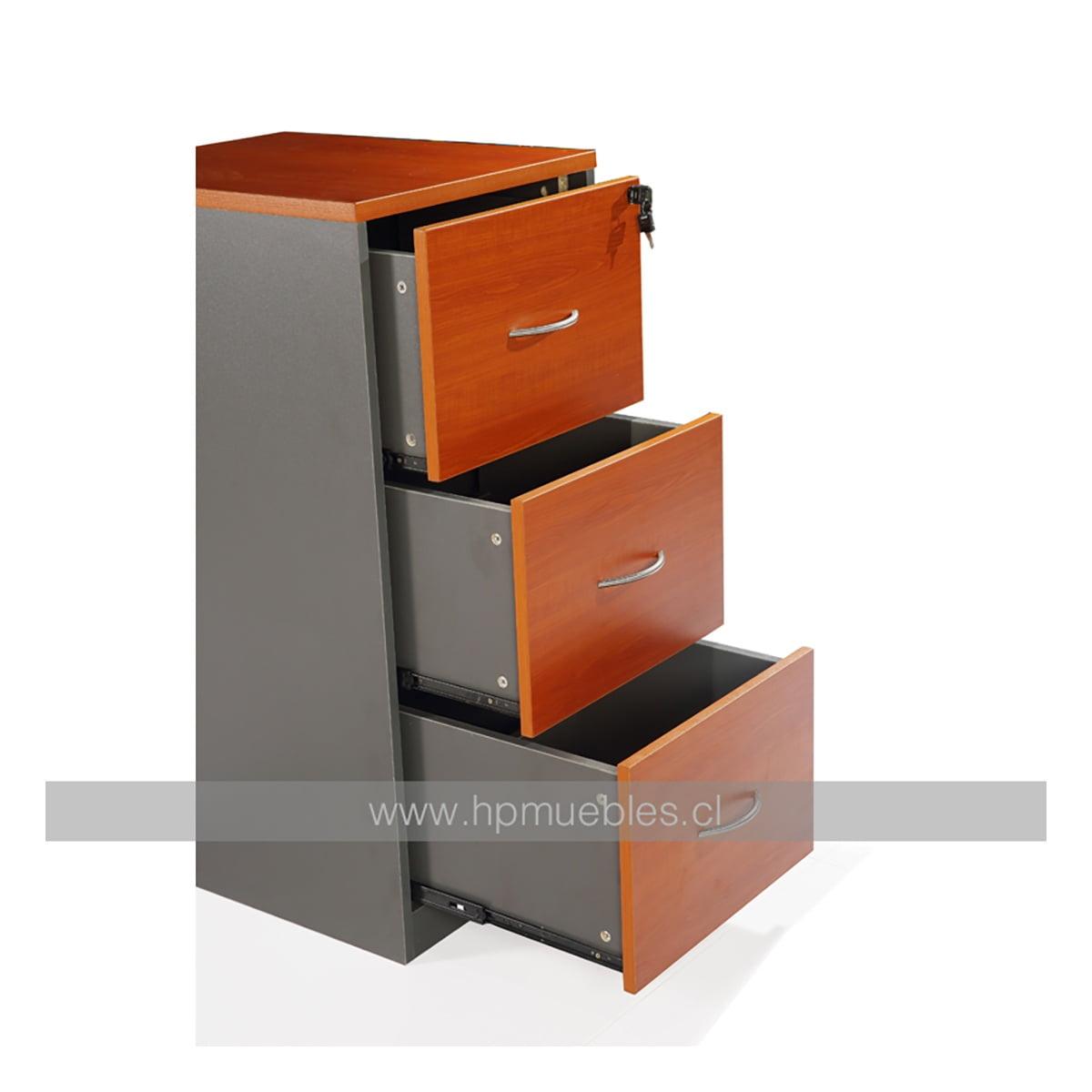 Kardex 3 cajones muebles de oficina decoprosillas for Muebles para oficina 3