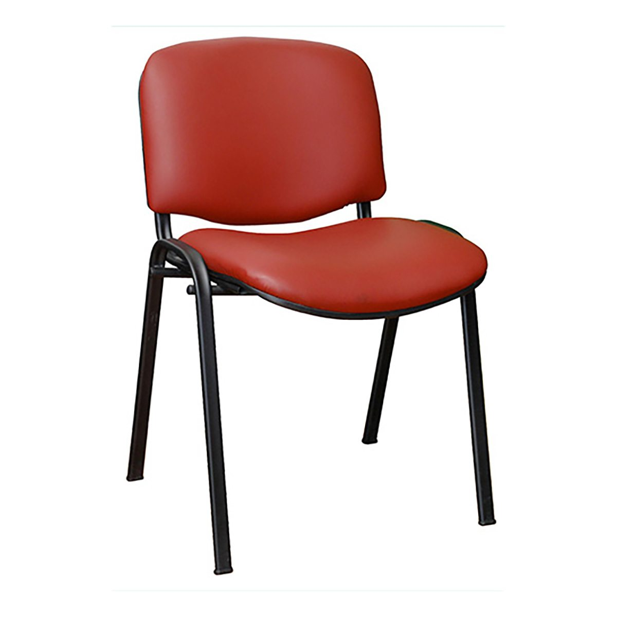 Iso tapizada sin brazos sillas de visitas decoprosillas for Sillas para visitas