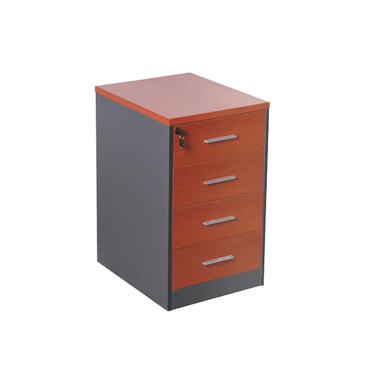 Cajonera 4 cajones muebles de oficina decoprosillas - Cajonera de oficina ...