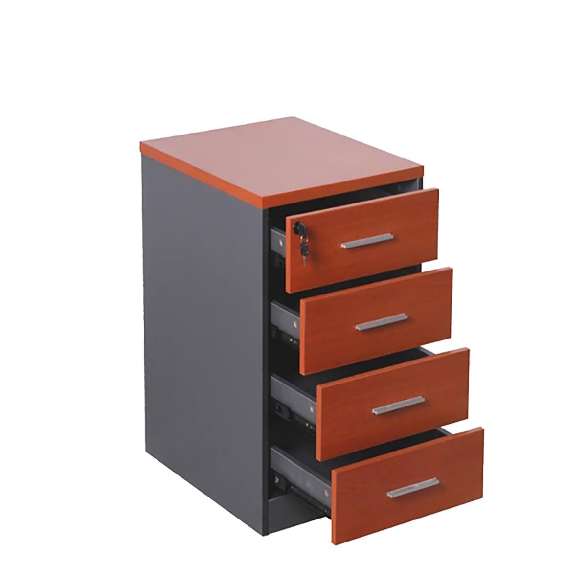 Cajonera 4 cajones muebles de oficina decoprosillas for Cajones para muebles